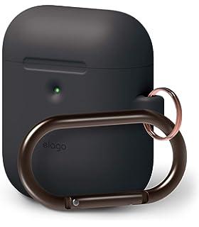 sale retailer e1300 e4ec4 Amazon.com: elago AirPods Hang Case [Black] - [Compatible with Apple ...