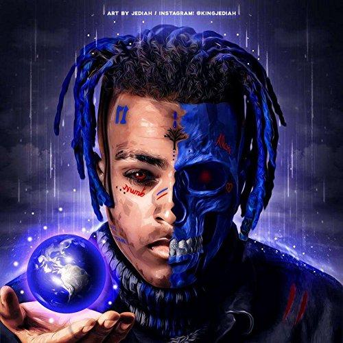 Get Motivation XXXTentacion Jahseh Dwayne Onfroy rapper singer songwriter musician 12 x 18 inch Poster