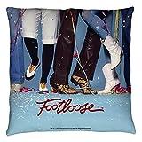 Footloose 80s Musical Drama Dance Movie Loose Feet Throw Pillow