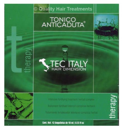 Buy tec italy tonico anticaduta 12 count