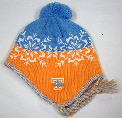 pick up 37b48 84a66 Tennessee Volunteers Abomination Knit Hats. NCAA Tennessee Lady Volunteers  Knit Hat with Pom and Tassel by Adidas