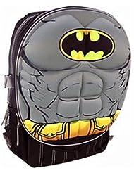 DC Comics Batman Muscle Molded Chest Kids 16 Backpack