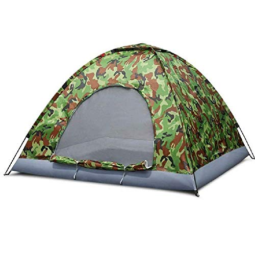 NILINLEI Outdoor Camouflage Tent Dome, Camping, Fishing for 1-3 People pop up Tent, 200 200 135 cm