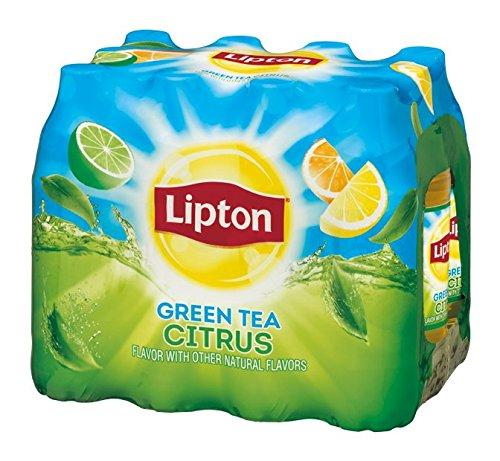 Lipton Green Tea, Citrus Iced, 12 ct