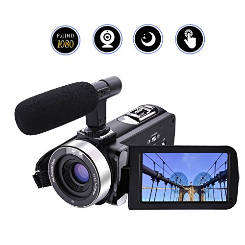 Camcorder Video Camera Full HD 1080p 24.0MP Digital Camera E