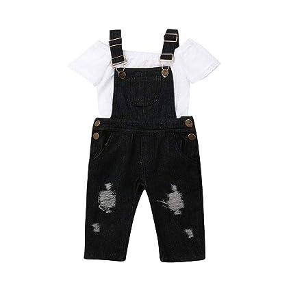 Oldeagle - Conjunto de 2 piezas de ropa para bebé y niña ...