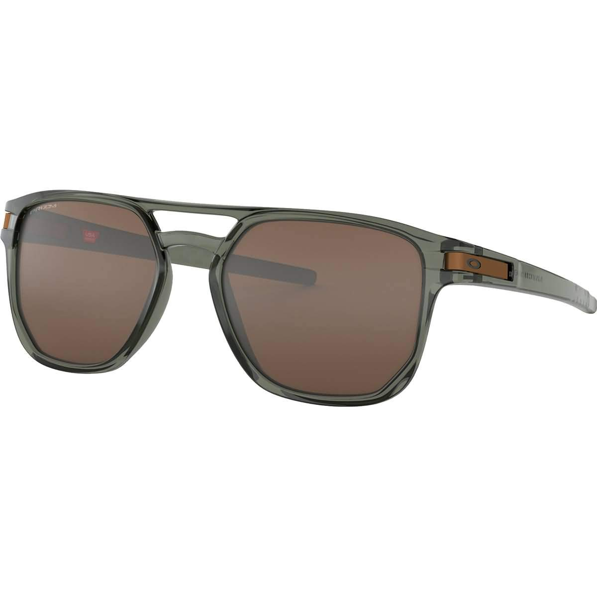 Oakley Men's OO9436 Latch Beta Square Sunglasses, Olive Ink/Prizm Tungsten, 54 mm by Oakley