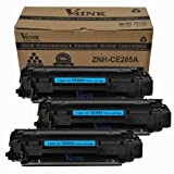 3 Pack V4INK ® New Compatible Hp CE285A 85A Toner Cartridge-black, Office Central