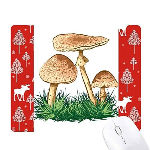 (Cute Green Plant Truffle Illustration Christmas Woods Forest Deer Elk Mouse)