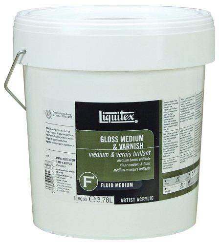 Liquitex Professional Gloss Fluid Medium Amp Varnish 128 Oz