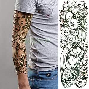 ljmljm 3 Unids Impermeable Tatuaje Pegatinas Cráneo Reloj ...