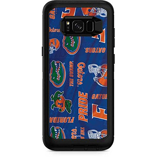 Skinit Florida Gators Pattern OtterBox Defender Galaxy S8 Plus Skin - Officially Licensed College Skin for