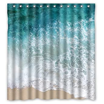 66quotWidth X 72quotHeight Sea Water Shower Curtain