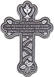 Cathedral Art PMC112 First Holy Communion Message Cross with Space for Engraving on Back, 5-1/2-Inch