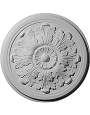 Ekena Millwork 12 3/4-Inch OD x 7/8-Inch Legacy Acanthus Ceiling Medallion