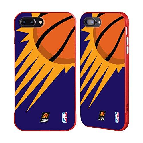 Official NBA Oversized Icon Phoenix Suns Red Fender Case for Apple iPhone 7 Plus / iPhone 8 Plus (Suns Phoenix Phone Cellular Case)
