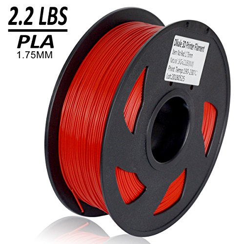 Dikale-PLA-3D-Printer-Filament-1KG335m1099ft-175mm-Dimensional-Accuracy-002-mm-1KG-Spool-175-mm-RED