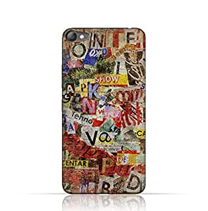 Lenovo S60 TPU Silicone Case with Old Torn News Paper Grunge Textured Design.