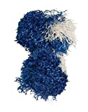 Dallas Cowboy Cheerleader Shakers,Blue,One Size Costume
