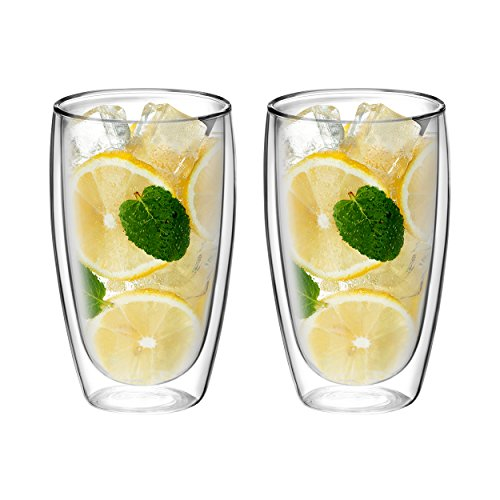Double Wall Glass, for Tea, Coffee, Wine, Beer, and More, By