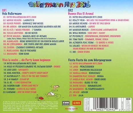 Ballermann Hits 2006 Various Amazonde Musik