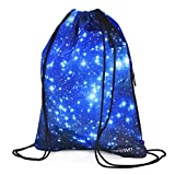 Draw Cord Bag Drawstring Backpack for Hiking Swimming Yoga Gym Outdoor Exercise Pinic