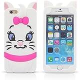 iPhone6 6s Plus用 3D カートゥーン ケース 軟質シリコシ漫画のキャラクター動物設計カバー iPhone アイフォン 6 6s Plu用