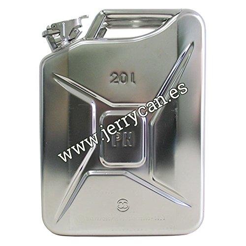 Jerry Can, Kanister 20L Edelstahl–SPP/jc20ai zugelassen