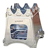 Search : Lixada Camping Wood Stove Folding Lightweight Stainless Steel Wood Burning Backpacking Stove for Outdoor Cooking Picnic Hunting