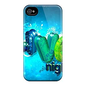 Rugged Skin Cases Covers For Iphone 6- Eco-friendly Packaging(love Night)