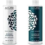 Acure Smooth + Manageable Shampoo and Conditioner, 24 Ounce
