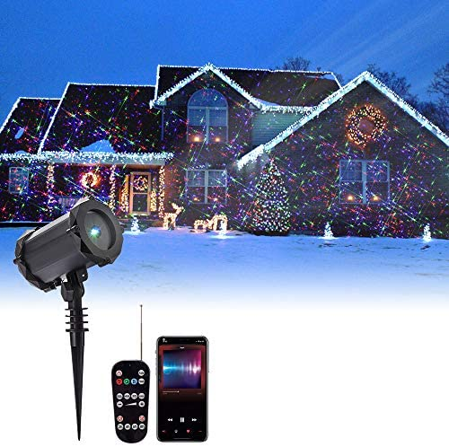 WOLFWILL Christmas Projector Waterproof Decoration product image