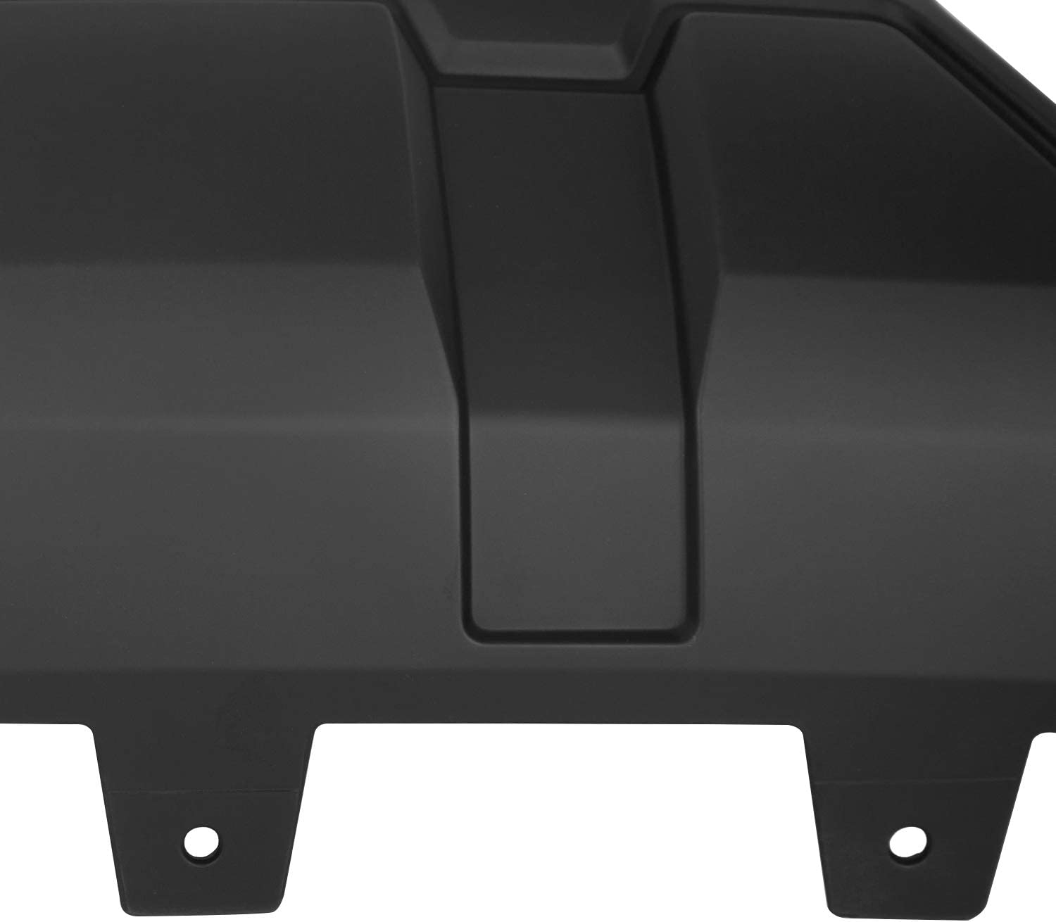 Replace for 23243494; GM1015123 Black ECOTRIC Compatible Front Bumper Skid Plate Replace for 2016 2017 2018 GMC Sierra 1500