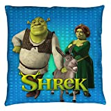 Shrek Funny Animated Cartoon Movie Dreamworks Throw Pillow