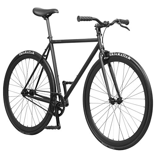 Pure Fix Original Fixed Gear Single Speed Bicycle, Juliet Matte Black, 58cm/Large