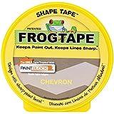 FrogTape 282549 Shape Tape Painting Tape, Chevron Design, 1.81-Inch x 25-Yard Roll