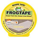 FrogTape 282549 Shape Tape Painting Tape, Chevron Design, 1.81-Inch x 25-Yard Roll