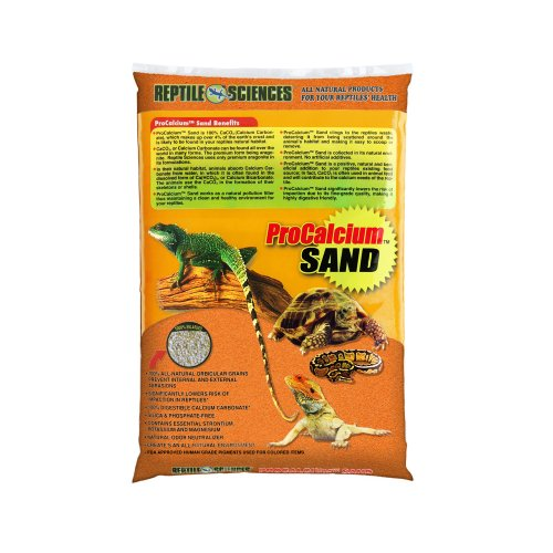 Reptile Sciences Terrarium Sand, 10-Pound, Orange by Reptile Sciences