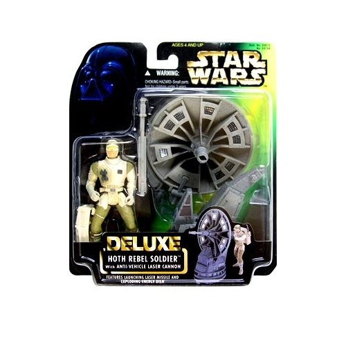 Star Wars: Power of the Force Deluxe Hoth Rebel Soldier Action Figure