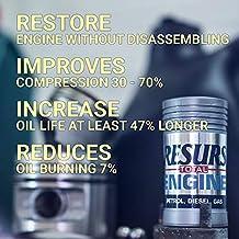 RESURS Total 50 g Top Quality Petrol Engine/Diesel Engine/LPG Engine/Car Engine Restorer Nano Technology Oil Additive/Engine Additive/Engine Treatment/Engine Restoration/Nano Restorer/Remetalizer
