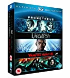 Prometheus / I, Robot / Abraham Lincoln Vampire Hunter Triple Pack (Blu-ray 3d)