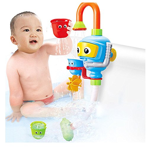 Frealm Baby Bath Toy Water Shower Sprayer Fountain Bathtub Toy for Babies Children Kids