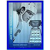 1991-92 Upper Deck Award Winner Holograms #AW1 Wayne Gretzky HOF LOS ANGELES KINGS Art Ross