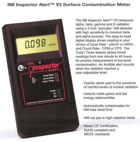 IMI Inspector Alert V2 Geiger Counter by IMI - International Medcom Inc.