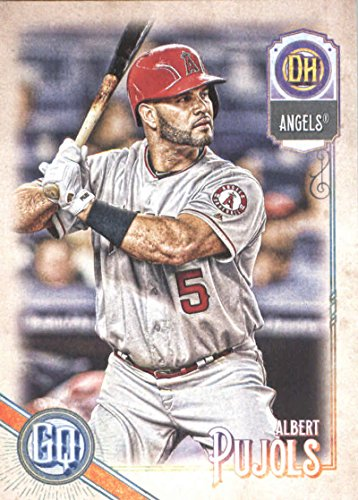(2018 MLB Gypsy Queen #223 Albert Pujols Los Angeles Angels Official Baseball Trading Card)