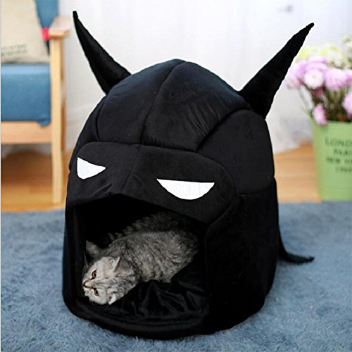 Etbotu Portable Batman Warm Pet Bed Dog Cat House Kennel Pet Supplies Decoration
