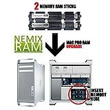 4GB (2X2GB) NEMIX RAM Memory for APPLE MAC PRO 2008 3,1 MA970LL/A (DDR2 800MHz PC2-6400 ECC FB DIMM)