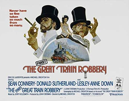 The Great Train Robbery 11x17 Inch 28 X 44 Cm Movie Poster Amazon