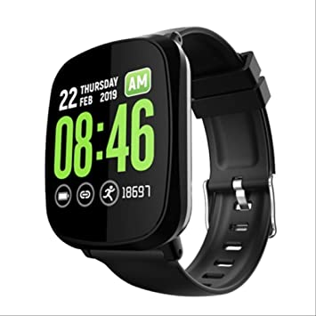 QSJWLKJ Bluetooth Smart Watch Hombres Mujeres Smartwatch Monitor ...
