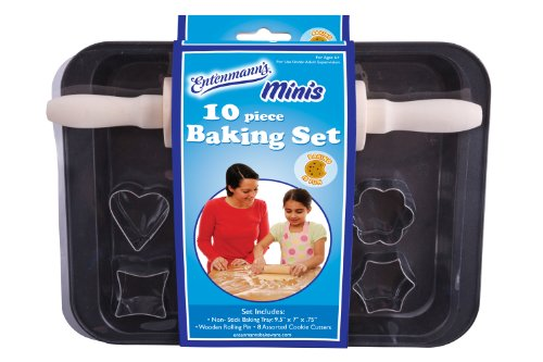 ENTENMANNS BAKEWARE Kids Bake Set, 10-Piece